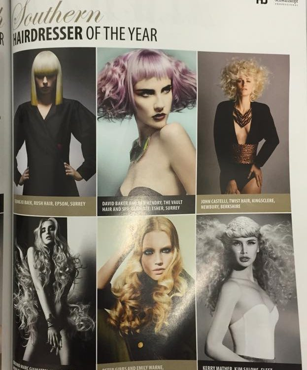 HEADROMANCE - HAIRDRESSERS JOURNAL - BRITISH HAIRDRESSING AWARDS - 2014 - SOUTHERN - FINAL